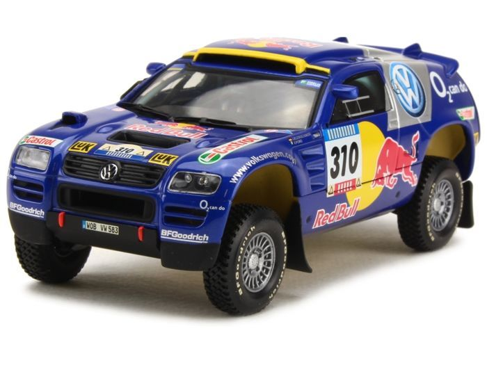 MiniChamps - 1:43 - Volkswagen Race Touareg #310 Barcelona Dakar 2005 - Limited Edition of 1.824 pcs.