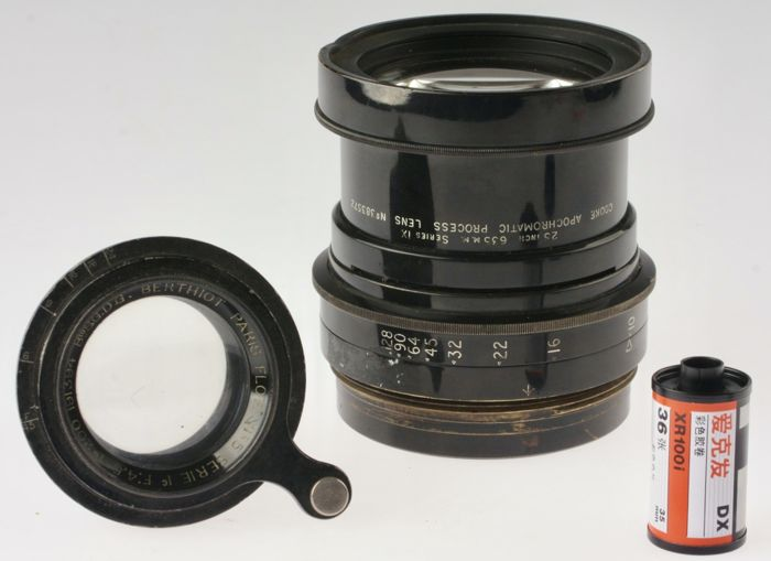 Taylor & Hobson Cooke APO 25 inch 1:10 / Berthiot Flor 200 mm 1:4.5