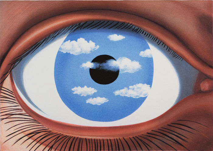 René Magritte (after) - Le Faux Miroir (The False Mirror)