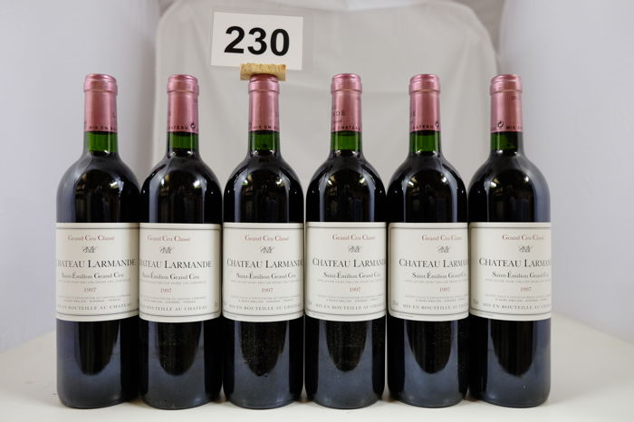 1997 Chateau Larmande, Saint-Emilion Grand Cru Classe - 6 bottles (75cl)
