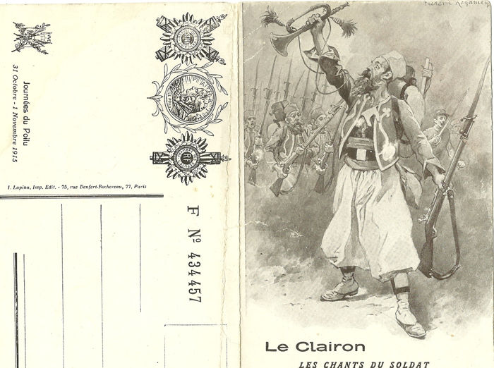 Militaria World War I: 61 cards on several themes, some rare: Liberated Alsace, bombing of Paris in 1918 (1914-19)