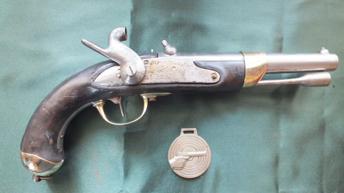 Beautiful Cavalry Pistol 1822 T Bis 1846-1866