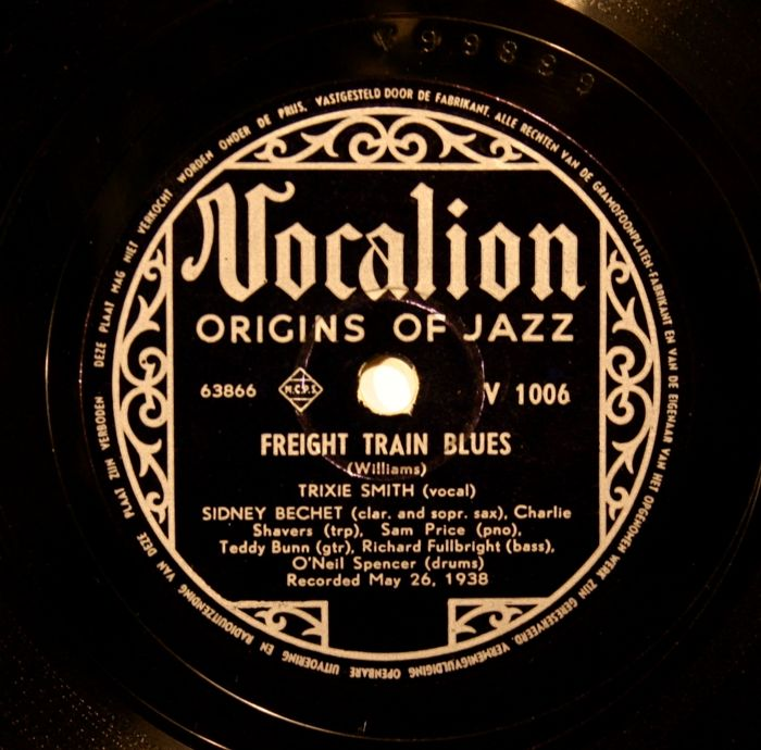 Blues on 78 RPM - 20 Records by Charlie Spand, Lonnie Johnson, Ma Rainey, Henry Brown and many more