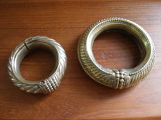 Two old Indian anklets from Madhya Pradesh - 2nd half 20th