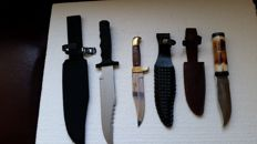 Hunting knives 3 pieces