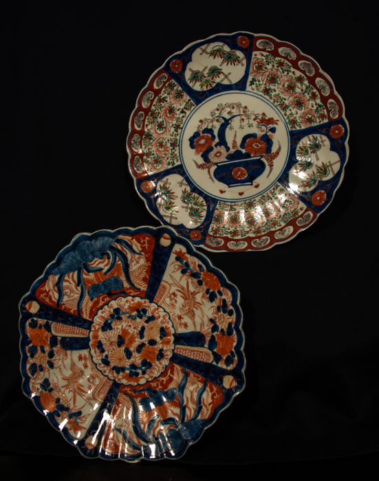 Two Imari charger - Japan - early 19th and late 19th century