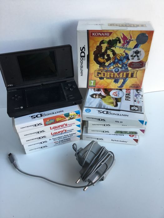 Nintendo DSi including 10 games like Gromiti etc