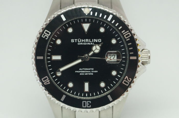 Stührling Original - REGATTA AUTOMATIC PROFESSIONAL DIVER  - Men - 2017