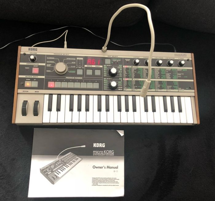 Korg MicroKORG Synthesizer/Vocoder - Catawiki
