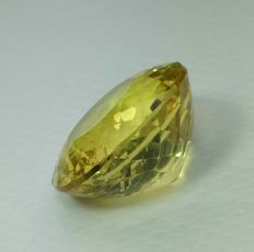 Yellow apatite - 6.32 ct