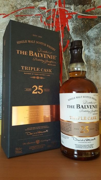 Balvenie 25 years old - Triple Cask
