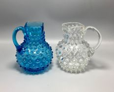 Two glas pitchers