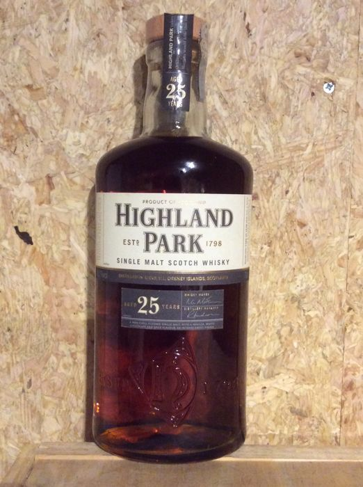Highland Park 25 years old - OB