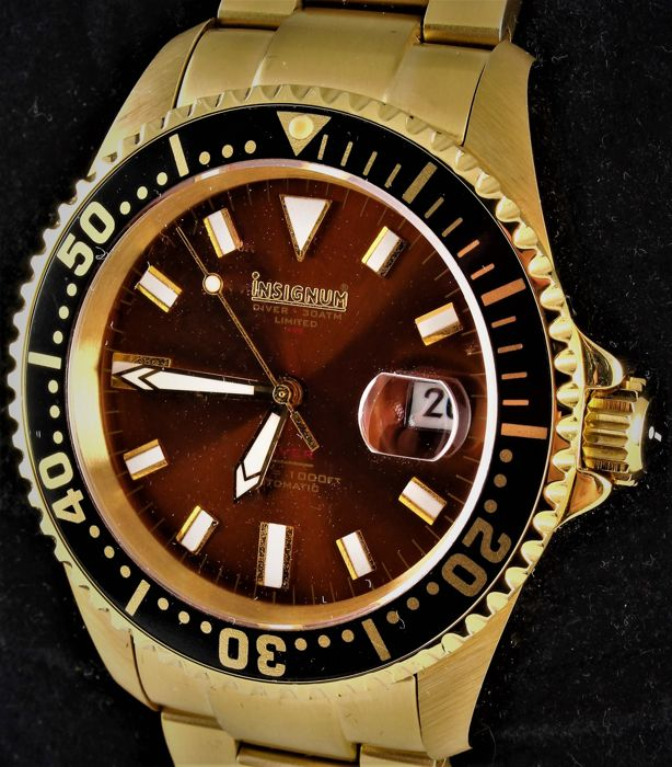 "Insignum - ""DIVEMASTER"" - FA06508/09 - LIMITED EDITION No 068/499 - Excellent Condition - Men - 2011-present"