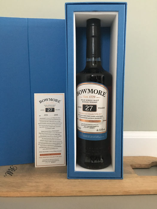 Bowmore Feis Ile 2017 27 Year Old Port Cask Bottle Number: 78 / 200 OB