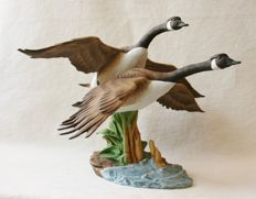 Canadian geese sculpture by Kaiser - Limited edition