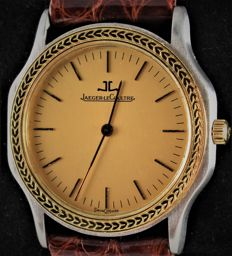 Jaeger-LeCoultre - Classic 18 Carat Yellow Gold & Steel - Swiss Vintage Model 140.075 - Excellent condition - Unisex - 1990-1999