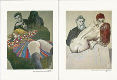"Manara, Milo - 2 graphic artworks - fine art ""Schiele"" and ""Rodin"""