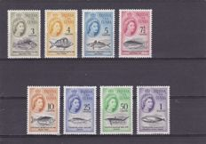 British Commonwealth 1941/1980 - a small selection of different Colonies
