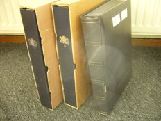 The Netherlands 1852/2002 - Batch in 2 Davo albums and stock book