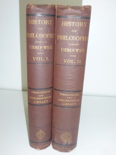 Professor Ueberweg - History of philosophy from thales to present times - 1876