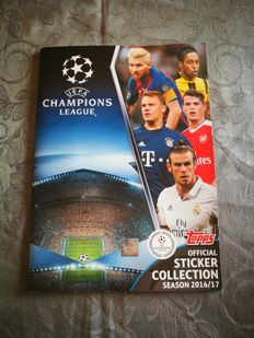 Variant Panini - Topps - Uefa Champions League 2016-2017 - Complete collection