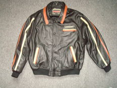 Chevignon - men's leather jacket for bikers/ Collection