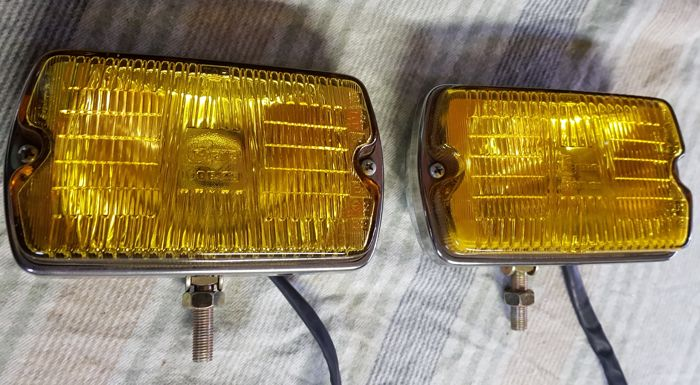 Two CIBIE foglights  type 35