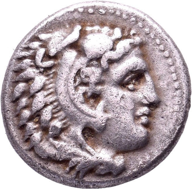 "Greek Antiquity - Kings of Macedon. Alexander III ""the Great"" 336-323 BC. Drachm, circa 325-323 BC, Miletos"