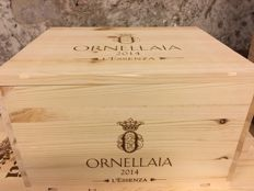 "2014 Ornellaia DOC Bolgheri Superiore Limited Edition ""L'Essenza"", 6 bottles in OWC"