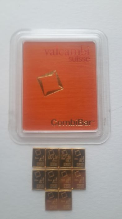 10 g gold Valcambi Switzerland