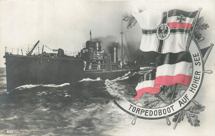 Germany - German navy - 14/18 - batch of 13 postcards of that period... Rare selection