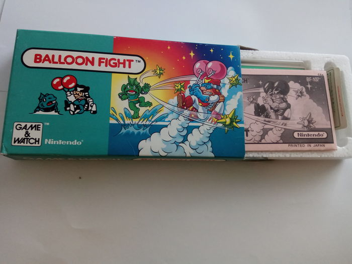Nintendo - Game & Watch Balloon Fight - boxed new