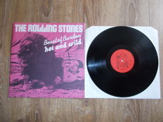"Lp The Rolling Stones "" Beast Of Burden , Hot And Wild "" Limited Edition , Numbered ,"