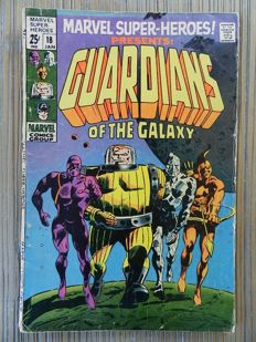 Marvel Super-Heroes Presents # 18 featuring Guardians of the Galaxy - 1st appearance - G+ / VG-  / 3.0-4.0 - 1x sc (1969)