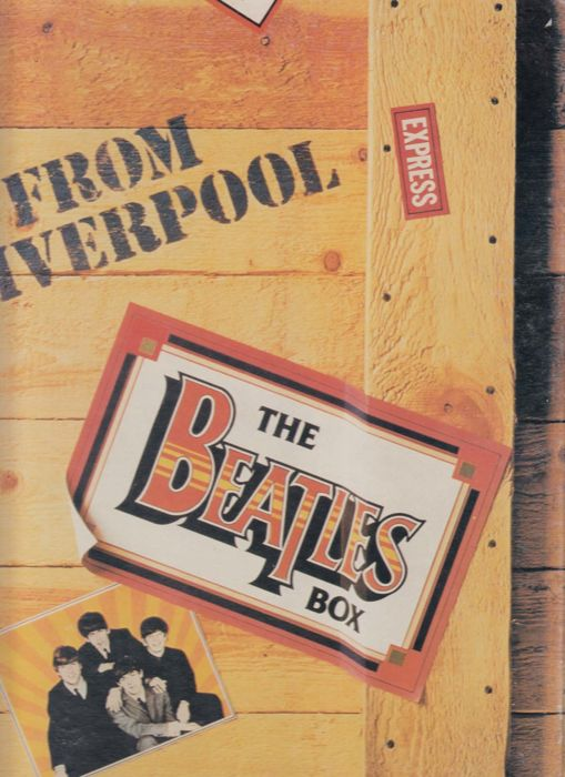 For The Real Collector - The Beatles Box  / From  Liverpool - 8 LP'S Box Set