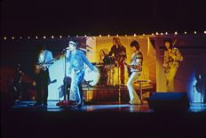 Rolling Stones, Mick Jagger, Keith Richards, 7 unpublished photographs - Los Angeles USA, 1973, 1975 and 1978
