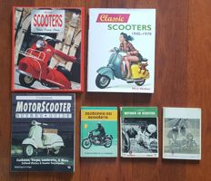 Lot of 6 scooter books