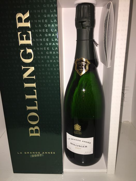 2007 Bollinger 'La Grande Année' Champagne - 1 bottle (75cl) in its original box