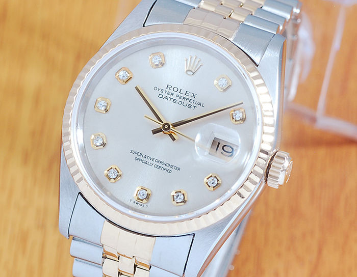 Rolex - Oyster Perpetual Datejust  - 16233 - Heren - 1990-1999