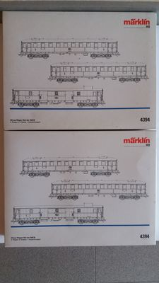 Märklin H0 - 4394 - 6 passenger carriages of the SNCB