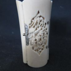 Antique Ivory Cantonese box - China - approx. 1900