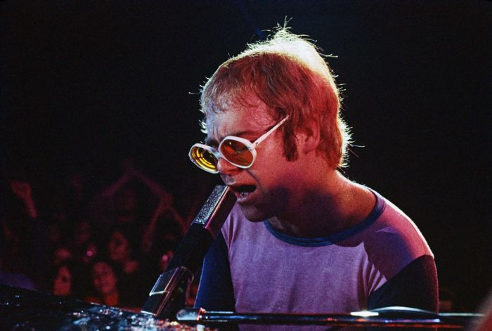 Elton John – Los Angeles Forum 1972 - unique live photograph number 2 out of 10 plus certificate