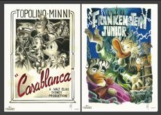 "Mottura, Paolo - graphic artworks ""Casablanca"" and ""Frankenstein Junior"" (2015)"