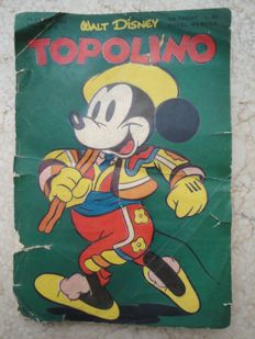 Topolino - issue no. 17 - first edition
