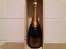 Champagne Krug Gran Cuvee - 1 bottle (75cl) with wood box