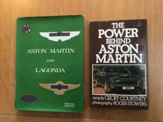 Aston Martin & Lagonda - 2 books - Courtney and Frostick