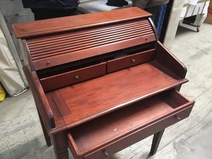 Antique wooden writing desk - Italy