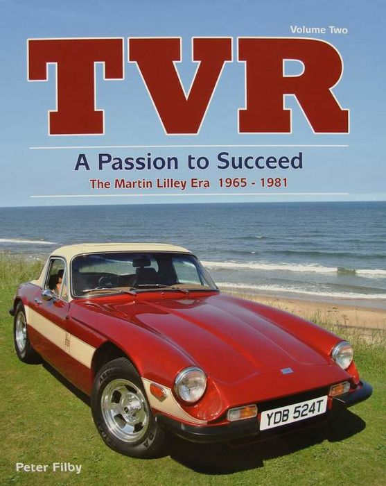 Book - TVR - a Passion to Succeed - 1965-81