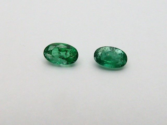 Pair of Emeralds 0.53 ct *No Reserve*